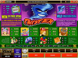 Twister Payout Screen 1